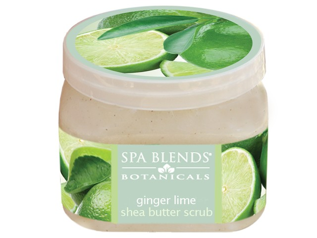 Ginger Lime Butter Scrub (25-15)