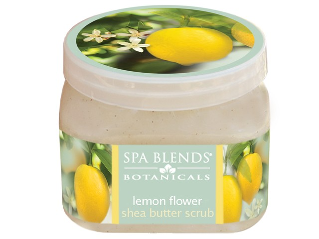 Lemon Flower Butter Scrub (18-15)